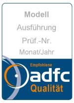 Fahrradschloss Sicherheitsstufe - ADFC Siegel